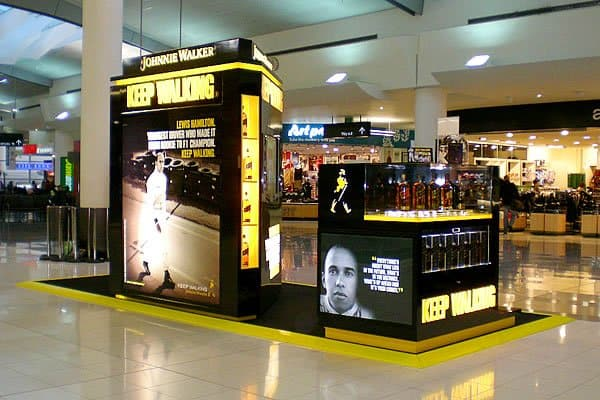 Duty Free Johnnie Walker Promotion