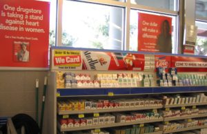 US Cigarette Display