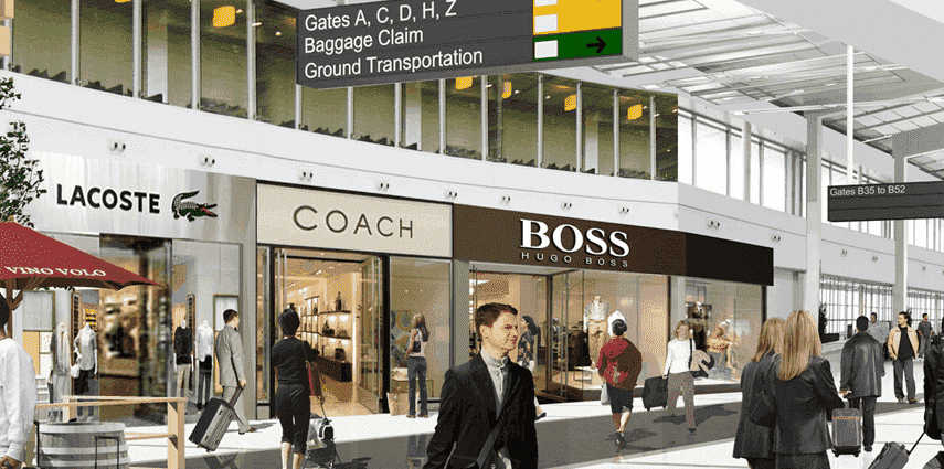 Free-Standing Airport Boutiques