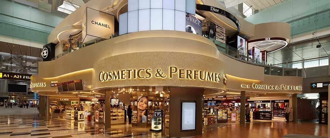 Duty Free Fragrances & Cosmetics