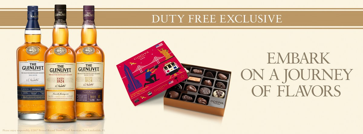 Glenlivet Duty Free Exclusives