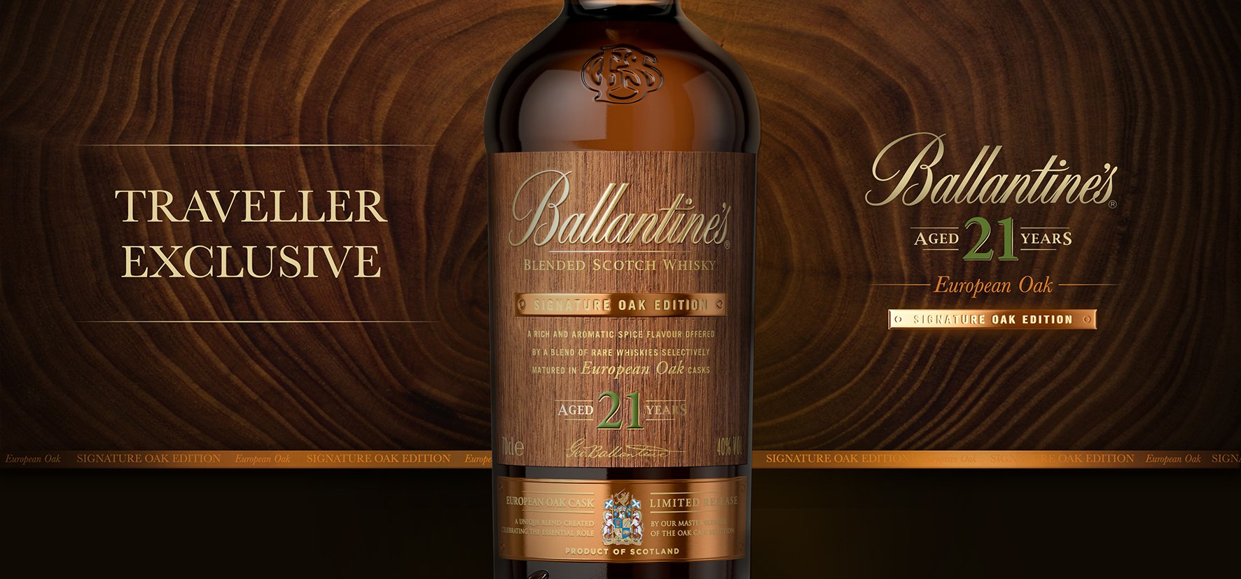 Ballantine's Traveller Exclusives