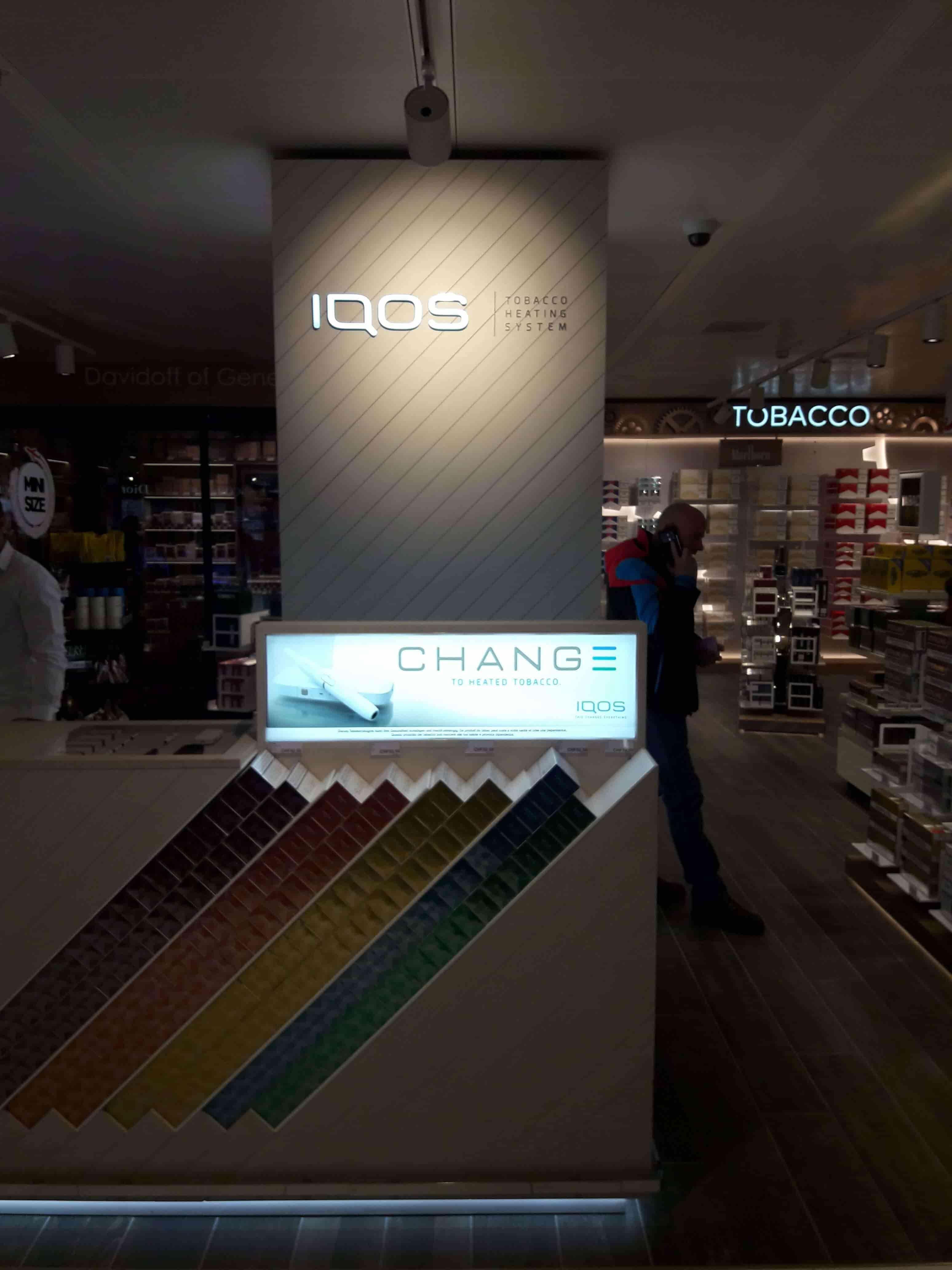 IQOS Display Geneva