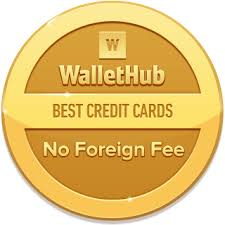 No Foreign Card Fees