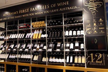 duty free wine