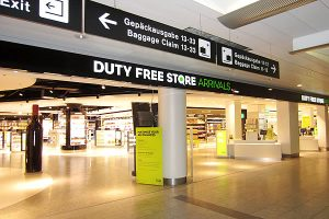 Zurich Arrival Duty Free Sales