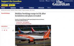 Air Travel Surge